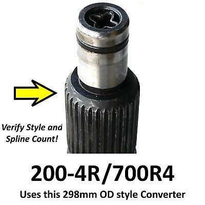GM 700R4 Torque Converter 1600-2200 Stall 27 Spline ACC Performance 48401