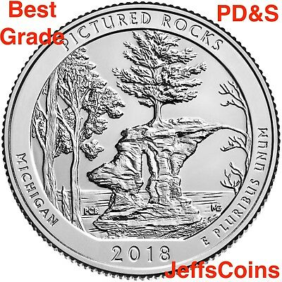 2019 P D S Lowell National Historical Park Mass MA Quarter PDS Mint ATB Best 3 +