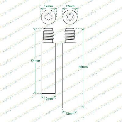 2x FRONT BRAKE CALIPER SLIDER PIN KITS BCF1341DX2 1992-1997 TOYOTA COROLLA E10