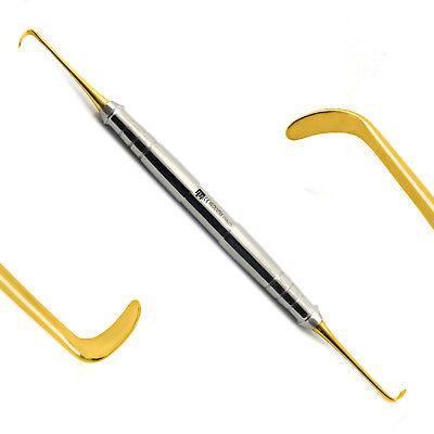 4Pcs Sinus Lift Elevators Dental Oral Implantology Instruments Scalers Lab Gold 6