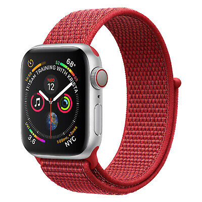 Nylon Woven Sport Loop Band Strap For Apple Watch iWatch Series 4/3/2/1 38/42mm 8