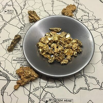 NUGGET RESERVE - Gold Paydirt Concentrate - Top Secret Chase For Troy Ounce Dirt