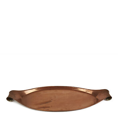 Arts & Crafts Was Benson Handled Copper Tray C.1900 2