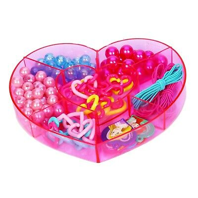 DISNEY Princess Create Your Own Jewellery Maker Set Beads Kit Bracelet Necklace 4
