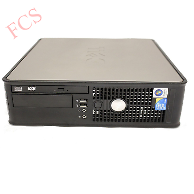 Fast Dell Quad Core Pc Computer Desktop Tower Windows 10 Wifi 8Gb Ram 500Gb Hdd 2