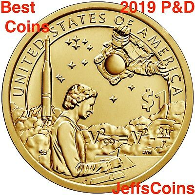 2019 S SACAGAWEA NATIVE AMERICAN Indians In The Space Program PROOF Dollar $1 PF 4