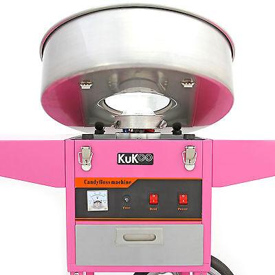 Popcorn Maker Retro Machine & Cotton Candy Floss Making Party Electric Machine 9