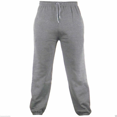 Men's Fleece Joggers Jogging Tracksuit Bottoms Elasticated Cuffed Trousers 4