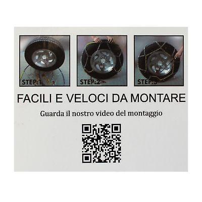 Catene Da Neve 9Mm 225/55 R19 Mazda Cx-5 (Ke, Gh) [01/2011->] 6