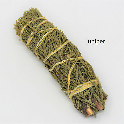 Juniper Sage Smudge Stick: 3 Wand Pack (Herb House Cleansing Negativity Removal) 2