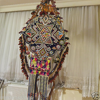Beautiful Antique 1900-1930s Tribal Decorative,Ceremonial Wall Hanging Turkey 10