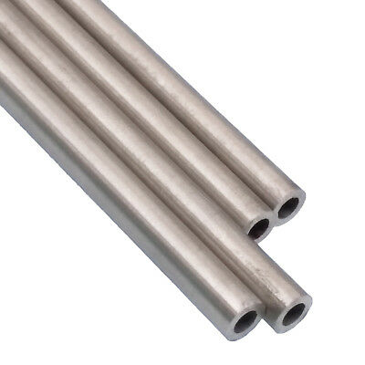 US Stock 4pcs OD 4mm ID 3mm Length 250mm 304 Stainless Steel Capillary Tube