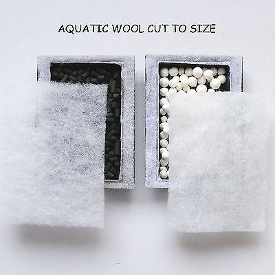 Aqua One -Compatible Aqua Zone 28 Ceramic Spheres + Carbon £6.50 =222 Kits Sold=