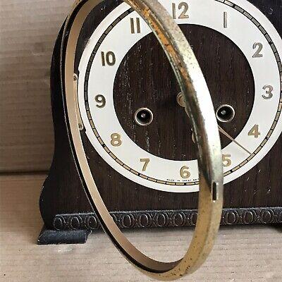 Vintage Smiths Mantle Clock - Pendulum Movement Marked 535 2