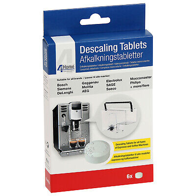 6 x Cleaning Descaling Tablets for AEG Electrolux Zanussi Coffee Machine Makers 6