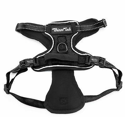 Dog Harness No-Pull Pet Harness Vest Adjustable Outdoor Reflective Easy Control 10