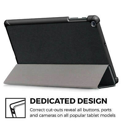 """Samsung Galaxy Tab A 2019 10.1"""" Full Body Flip Cover Trifold Case for T510/T515 5"""