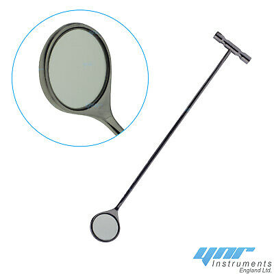 YNR Equine Dental Mouth Mirror Curved Veterinary Dentistry First Aid Instruments 2