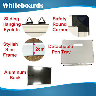 900mmx1200mm Premium Quality Office Magnetic Whiteboard Whiteboards White Board