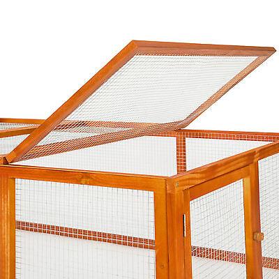 Cage enclos clapier XXL à lapins lièvre cobaye cochon petits rongeurs étable