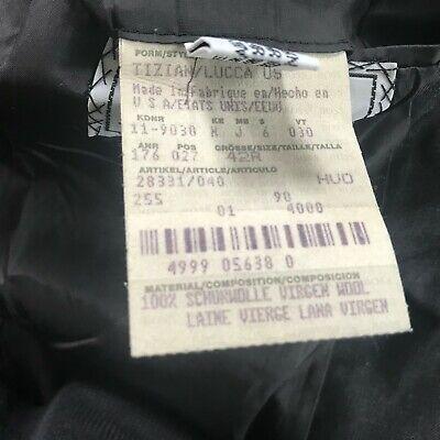Hugo Boss Sz 42 R Gray Wool Two Button Men's Sports Coat Blazer 7