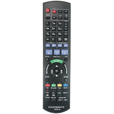 New Remote N2QAYB000479 for Panasonic DVD Recorder DMRXW380 DMRXW385 DMRXW390 12