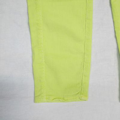 DEHA pantaloni/leggins bambina mod.F87397 col.GIALLO LIME tg.2XL estate 2014 4