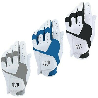 WFX Mens All Weather Soft Golf Gloves Leather Palm UA CoolSwitch 2