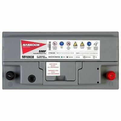 Hankook 60038 Batterie de Démarrage Pour Voiture 12V 100Ah - 354 x 174 x 190mm 3