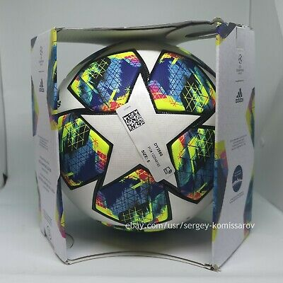 Adidas Champions League Finale 2019-2020 OMB ball, size 5, DY2560, with box 3