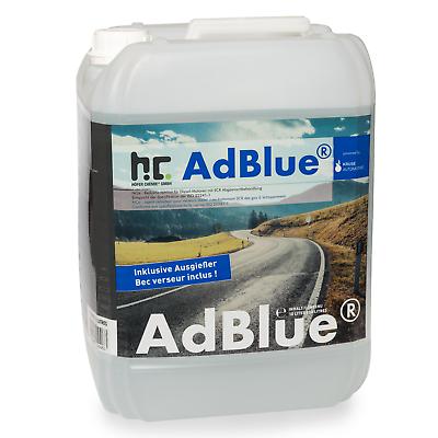 20 Liter (2 x 10 L) AdBlue® inklusive Ausgießer Additiv für Diesel im Kanister 6