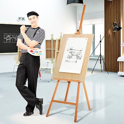 Caballete Soporte Tripode De Madera Atril Cuadro Pintura Partitura Pizarra Oleos