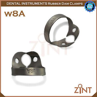 Rubber Dam Universal Clamps Upper & Lower Premolar Anterior Medesy Basic Set New 11