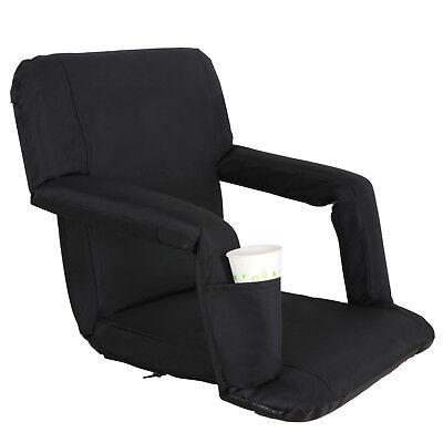 2 Pack Portable Football Stadium Seat Chair for Bleacher Backrest tilt 5 angels 5