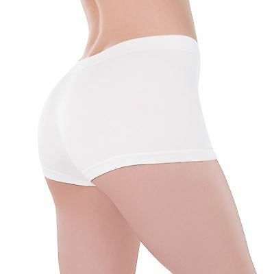 Ladies Boy Booty Shorts Hot Pants Boxers Stretch Soft Under Fancy Dress Costume 2