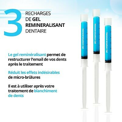 Kit blanchiment dentaire objectif dent blanche - Kit blancheur White First ®