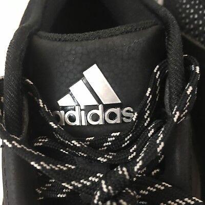 Nuovo Adidas Speed Ginnastica 3.0 Nero/Argento/BIANCO UOMO Scarpe da Baseball 4