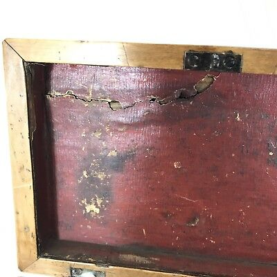 Fine Antique Regency Rosewood Satinwood Inlaid Two Section Tea Caddy C1820 8