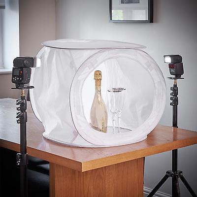 50CM Photography Studio Soft Light Box Photo Tent Cube 4 Colour Backdrop