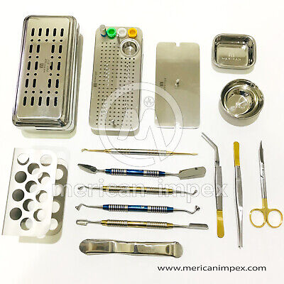 Latest PRF GRF Box Membrane Dental Implant Surgery Set Of 13 Pcs PRF PROCESS 2