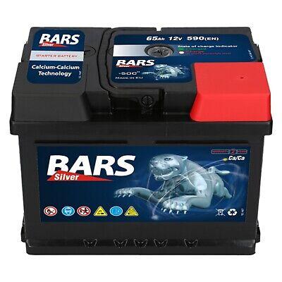 BARS 12V 60 Ah 570A EN AUTOBATTERIE ersetzt 53Ah 54Ah 55Ah 58Ah 62Ah 63Ah 65Ah