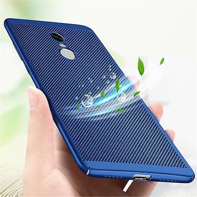 For Xiaomi Redmi Note 5 Pro 4X Mi 8 SE A2 Breathable Anti-Hot Hard Case Cover 7