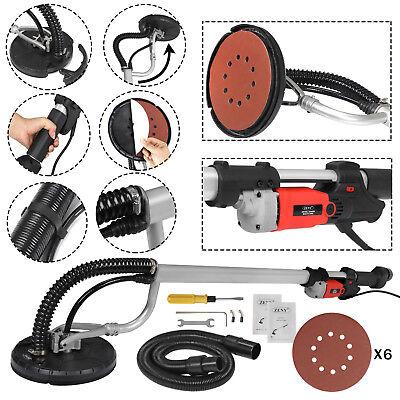 Electric 800W Variable Speed Drywall Sander w/ Vacuum Hose & Sander Discs 4