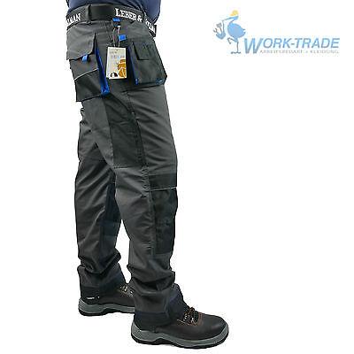 Arbeitshose Bundhose Arbeitskleidung Hose Herren Grau Schwarz Blau Gr. 46-62 8