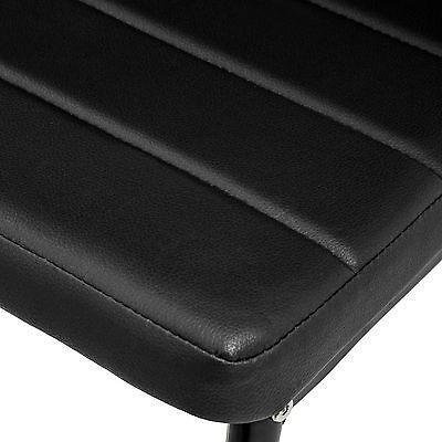4x Chaise de salle à manger ensemble salon design chaises cuisine neuf noir 6