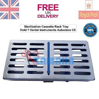 Zamaha Sterilization Cassette Rack Tray Hold 7 Dental Instruments Autoclave CE 2