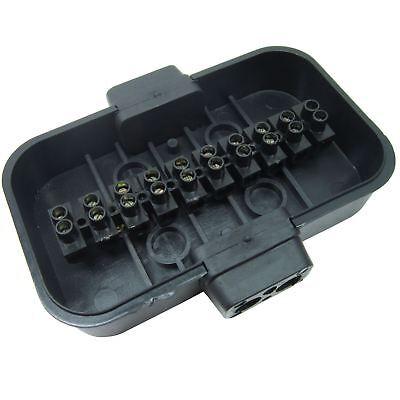 Trailer Light Electrics Rewire Kit Plug, Junction Box, 5m Cable / Wire Termina 5