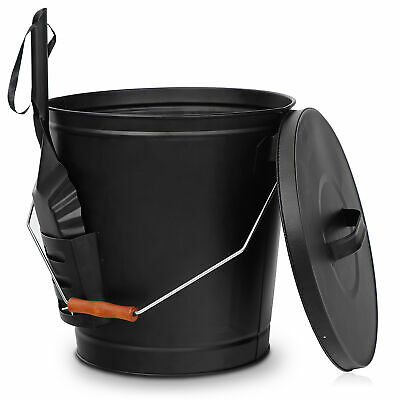 """Coal Shovel5/"""" or 6/""""Black Metal Cooker Stove Fire Fireplace Ashes Dust Litter"""