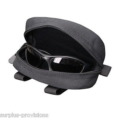 Condor 217 Black PALS MOLLE Goggle Sunglasses Eyeglasses Glasses Case Pouch