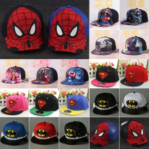 Kinder Jungen Mädchen Basecap Baseballcap Kappe Mütze Druck Mickey Superheld Hut